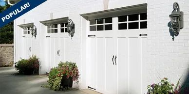 Overlay Steel Garage Doors