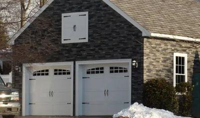 Classic Steel Carriage  Garage Doors