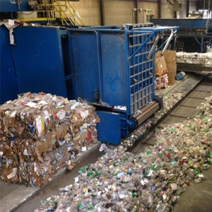 Image of a recycling center