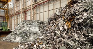 Image of a pile of recyclable material