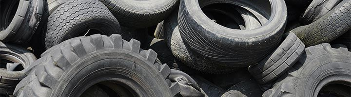 Image of a pile of tires