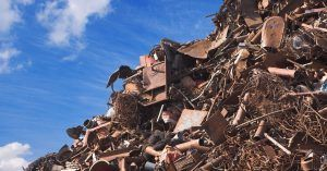 Image of a pile of recyclable metals