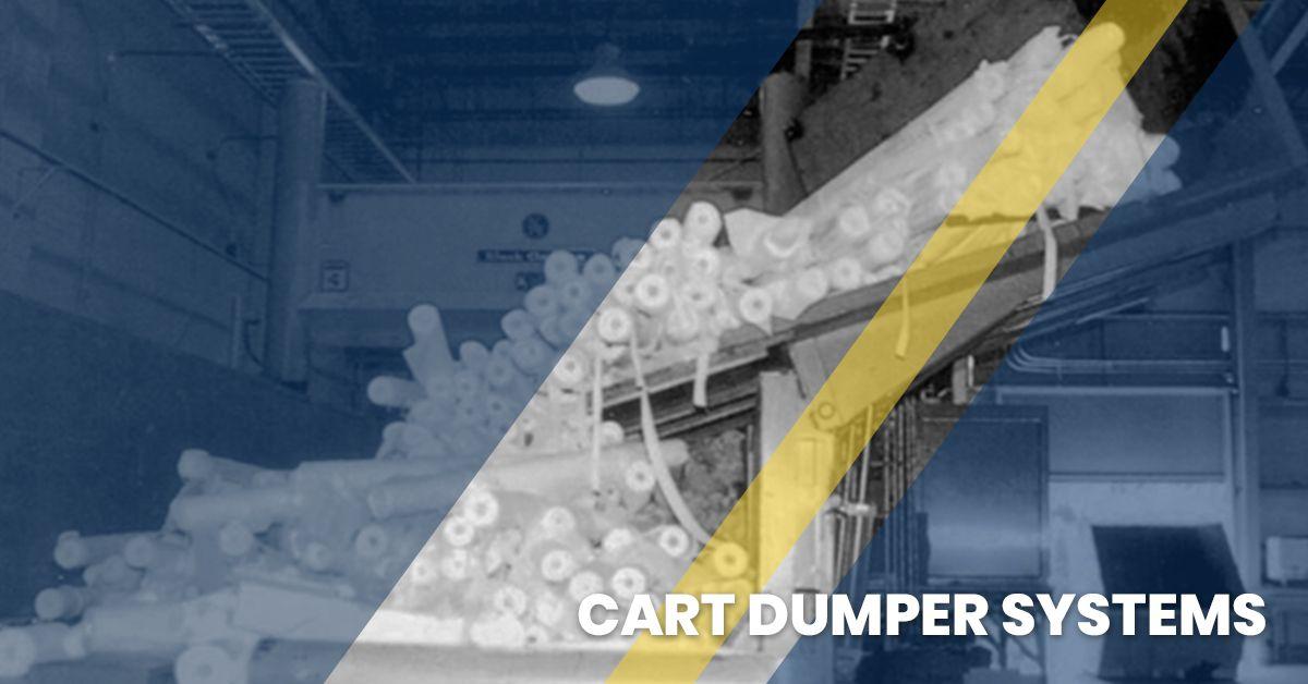 Image of a cart dumper system