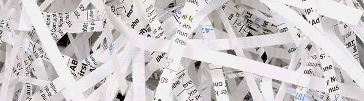 an image of shredded paper