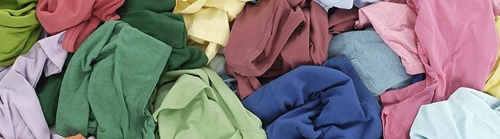 Image of a pile of textiles