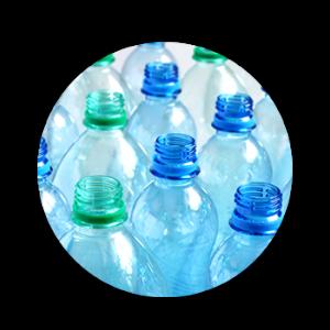 Image of empty plastic bottles