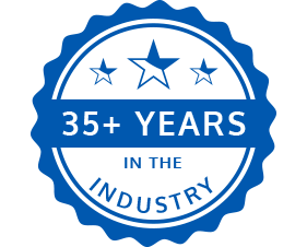 35 + Years In The Industry