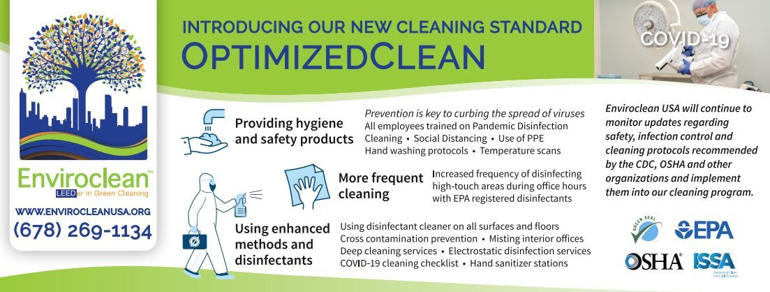 Optimized Clean info sheet from EnviroClean
