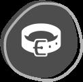 icon of a leash