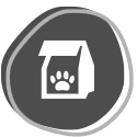 icon of a doggy bag