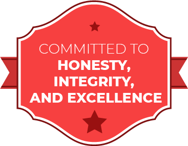 Committed  to honesty integrity and excellence
