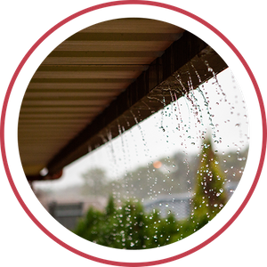 Image of leaky gutters