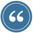 quote mark icon