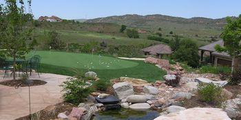 Backyard Mountain Putting Green - PlushGrass Turf 500x250.JPG
