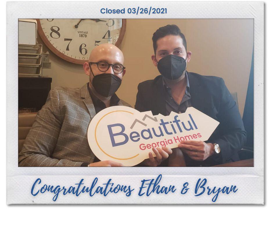 Felicidades Ethan y Bryan!