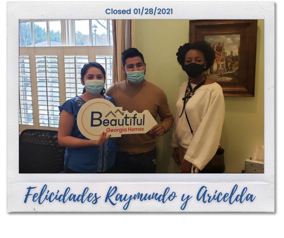 Congratulations Raymundo & Aricelda!