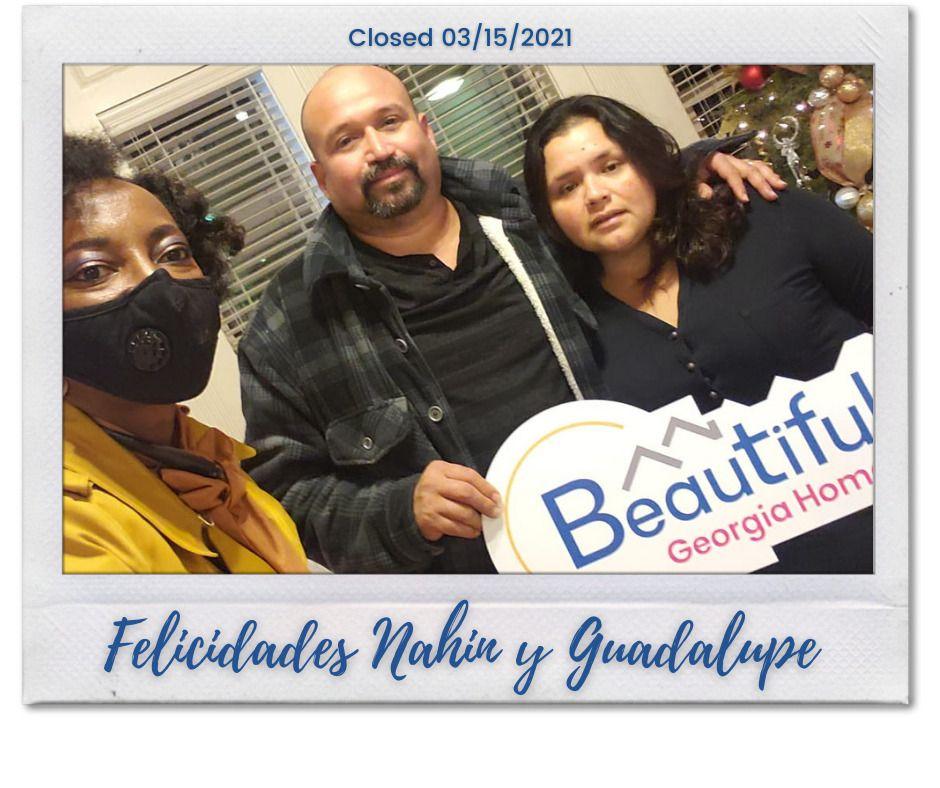 Congratulations Nahin & Guadalupe!