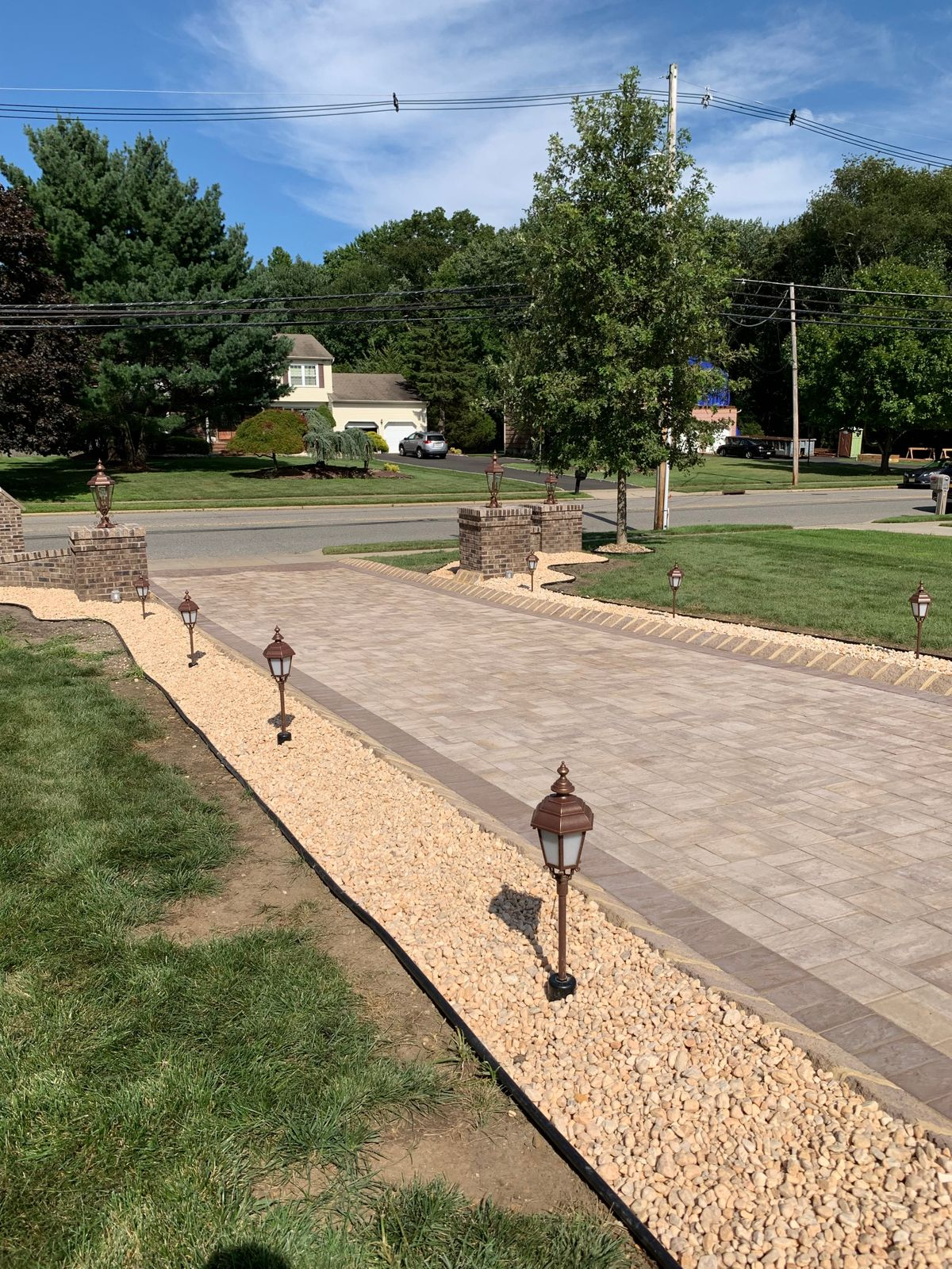 driveway border completed.JPG