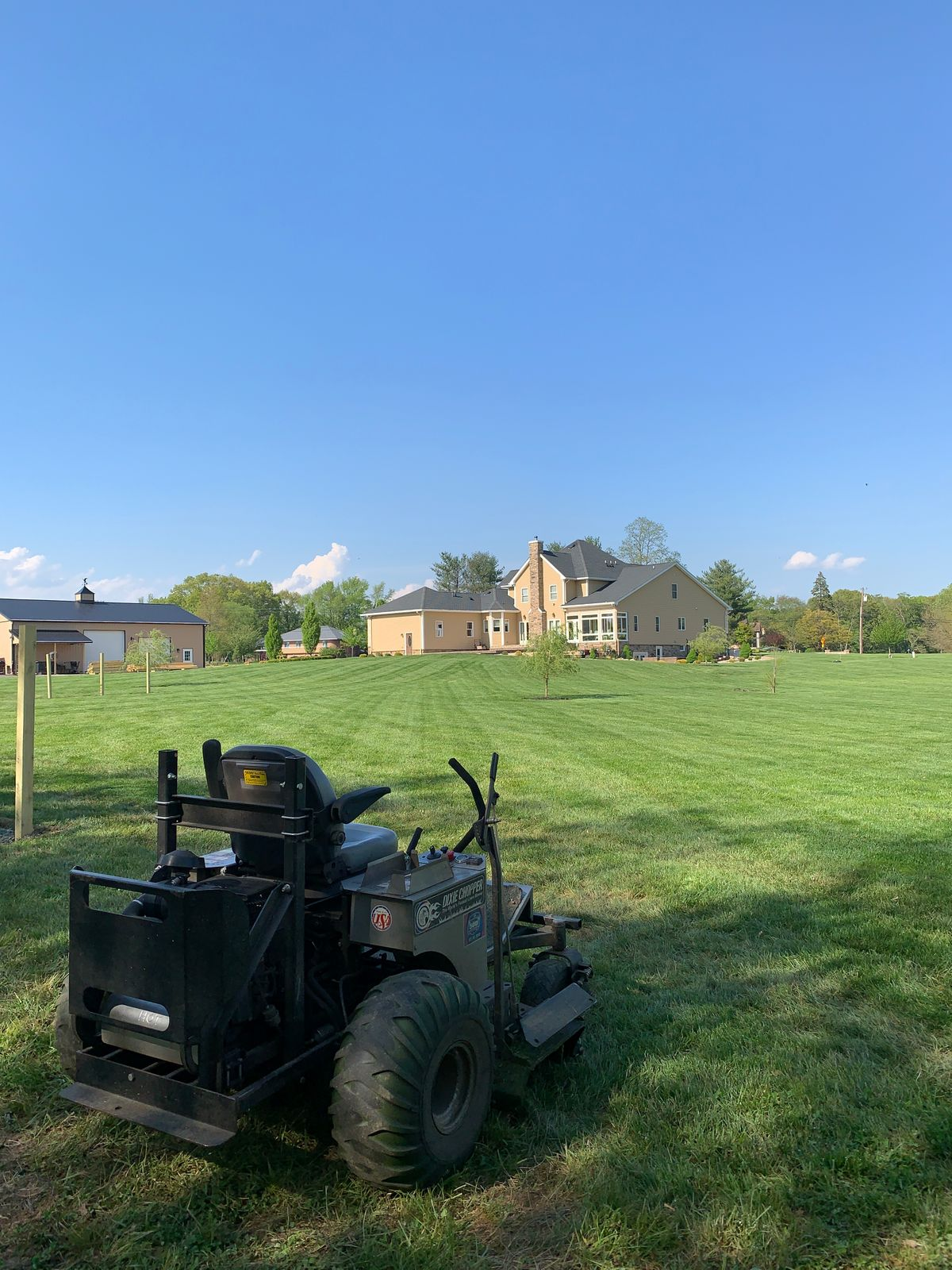 mower and grass - nice pic.JPG