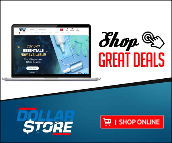 dollar store shop from home