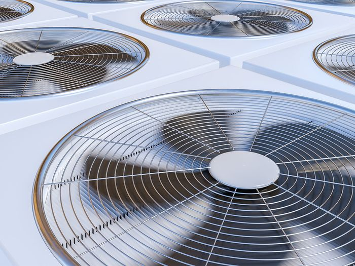 Image of a commercial HVAC system.