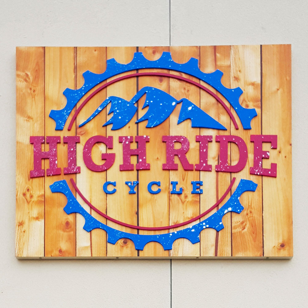 WALL SIGNS ARE HIGHLY CUSTOMIZABLE