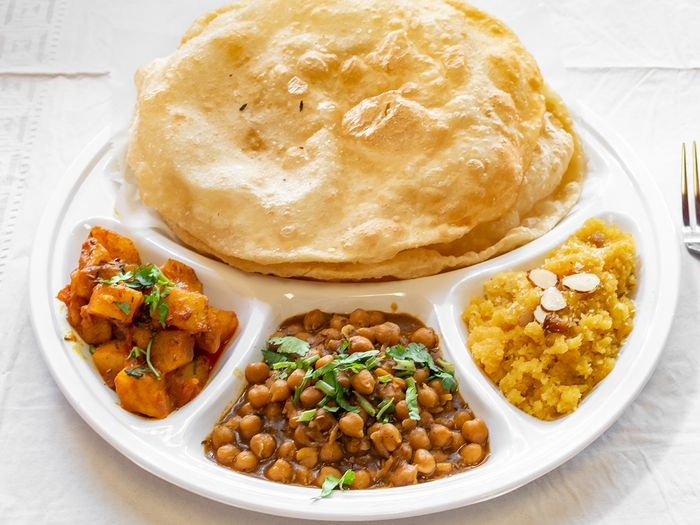 Traditional Indian Breakfast