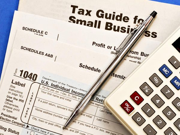 Tax forms for small businesses.