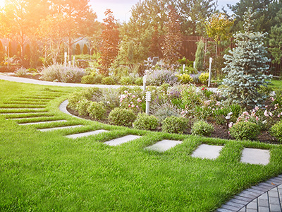 Image of commercial landscaping