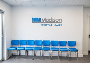 Madison Dental waiting room in South Howell
