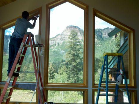 Home Window Tinting Installation