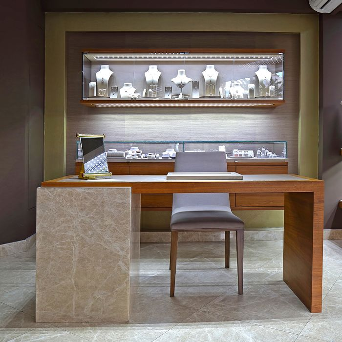 Luxury jewelry store insured with CED 1976