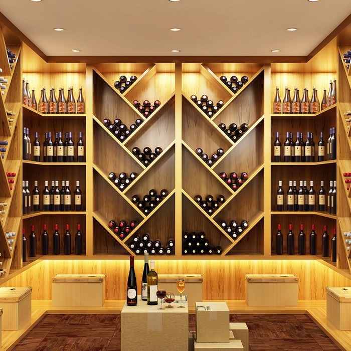 Secure wine cellar that's insured