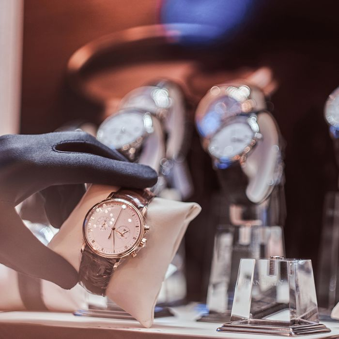 Fine jewelry watch insured with Jewelers unBLOCKed