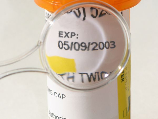 Expired medication.