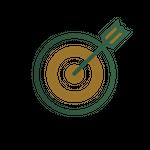 Dart board icon