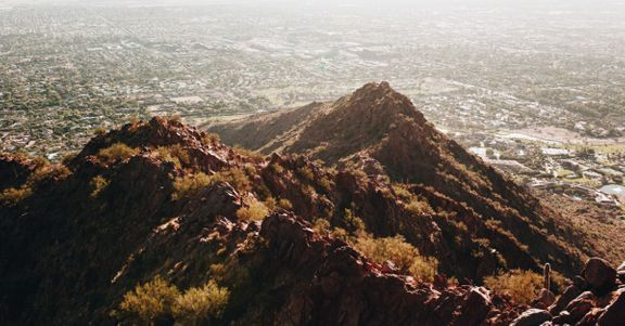the rock of Phoenix