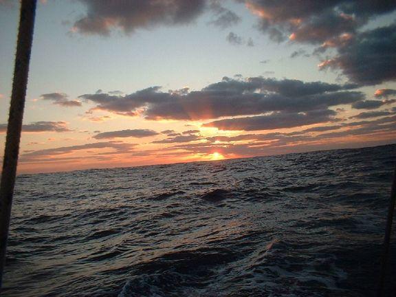 Sun slipping over the horizon.jpg