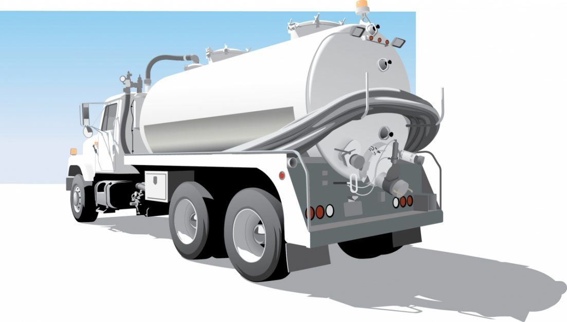 Septic Pump Truck Graphic