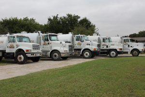 B & B Pumping Septic Pump Truck Fleet