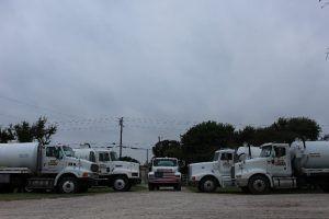 The B & B Pumping Septic Pump Truck Fleet