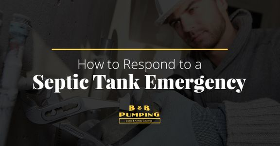 Septic Tank Emergency
