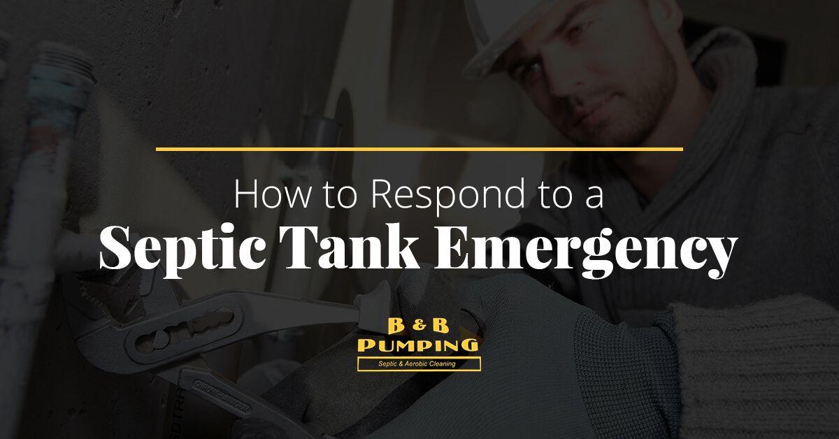 Septic Tank Emergency