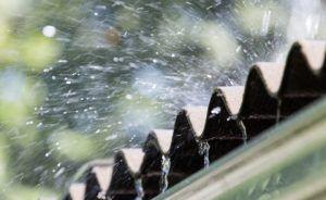 Rain on a Rooftop