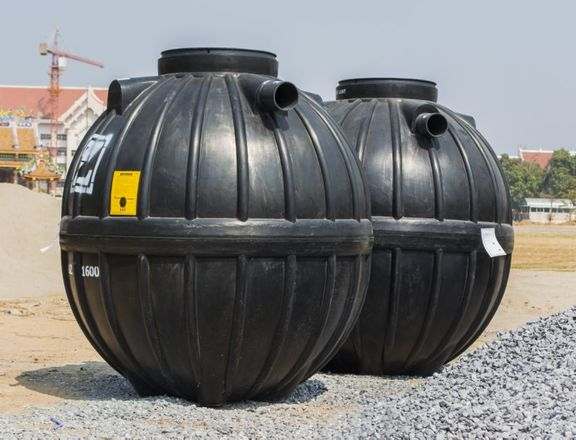 Pair of Septic Tanks
