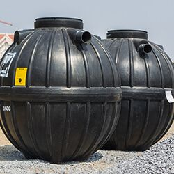 Two Septic Tanks