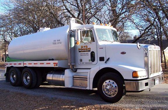 B & B Pumping Septic Truck