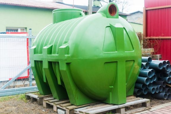 Large Septic Tank