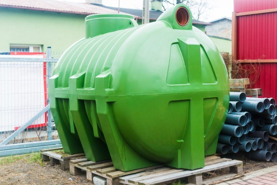 Large Septic Tank