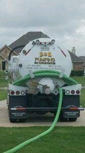 B & B Pumping Septic Tank Truck